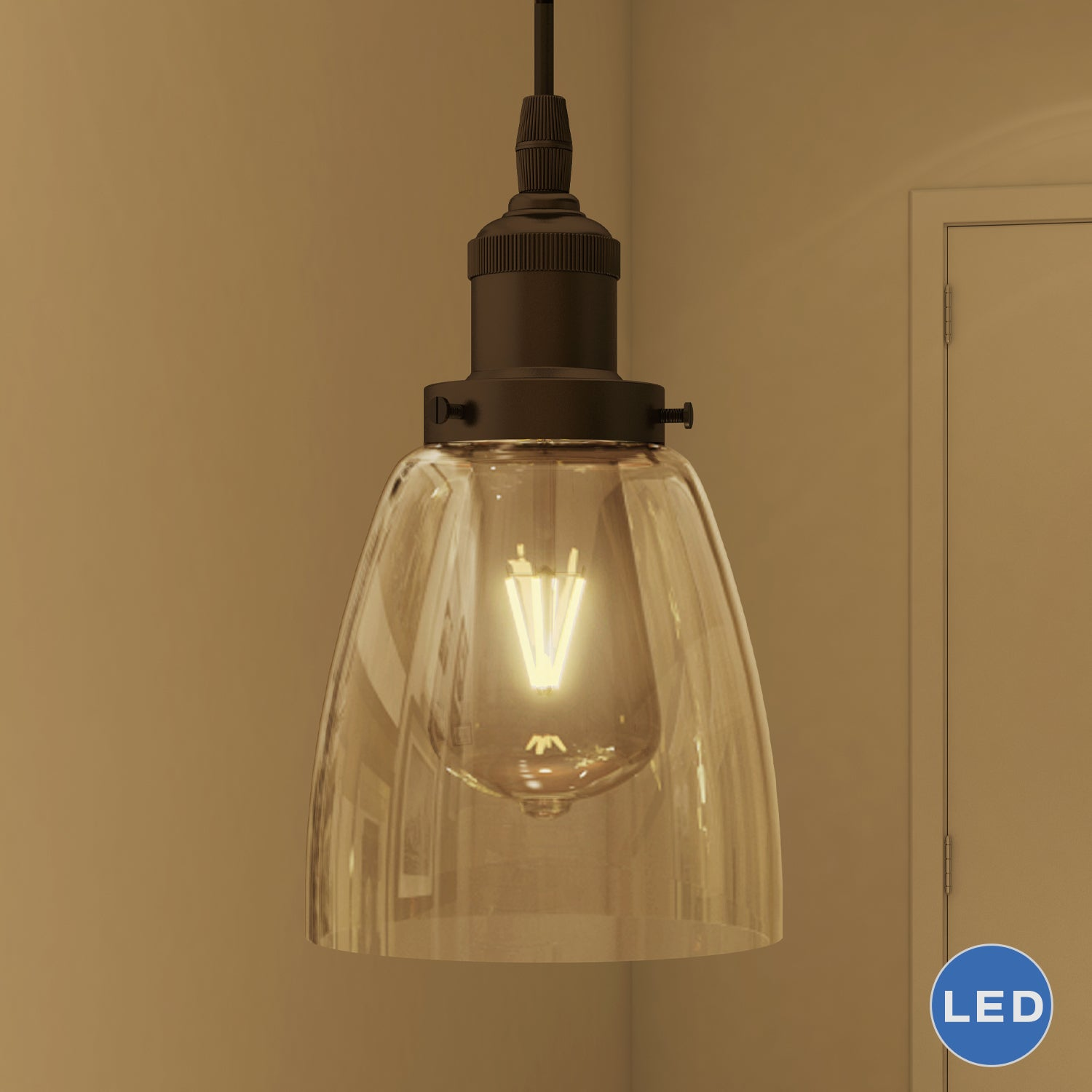 adjustable pendant lighting. Shop Vonn Lighting Delphinus Pendant Light Adjustable Hanging Industrial With Filament Bulb In Architectural Bronze - Free Shipping Today L