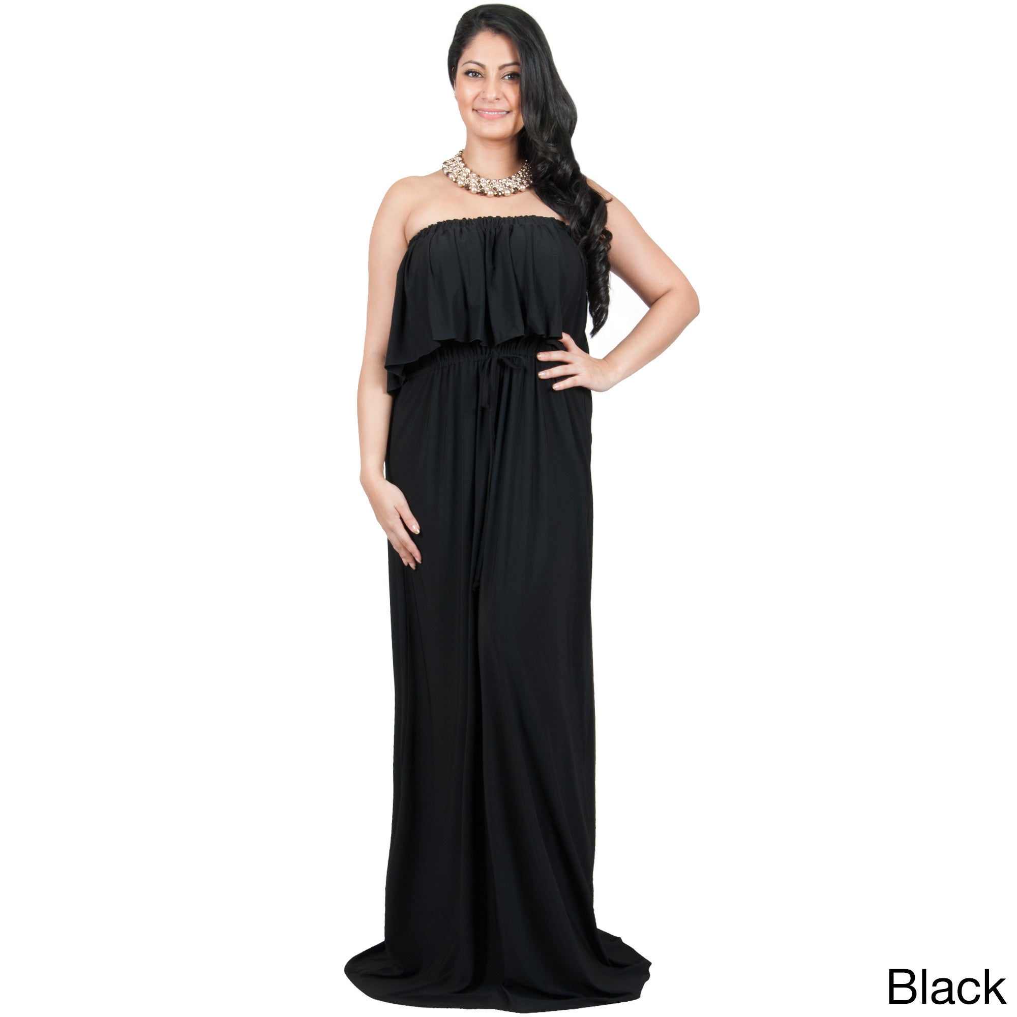 Flattering Maxi Dresses For Plus Size