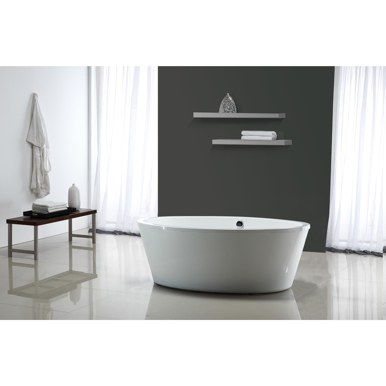 wayfair bathtubs wyndham benerento freestanding dyconn improvement pdx x soaking faucet bathtub home
