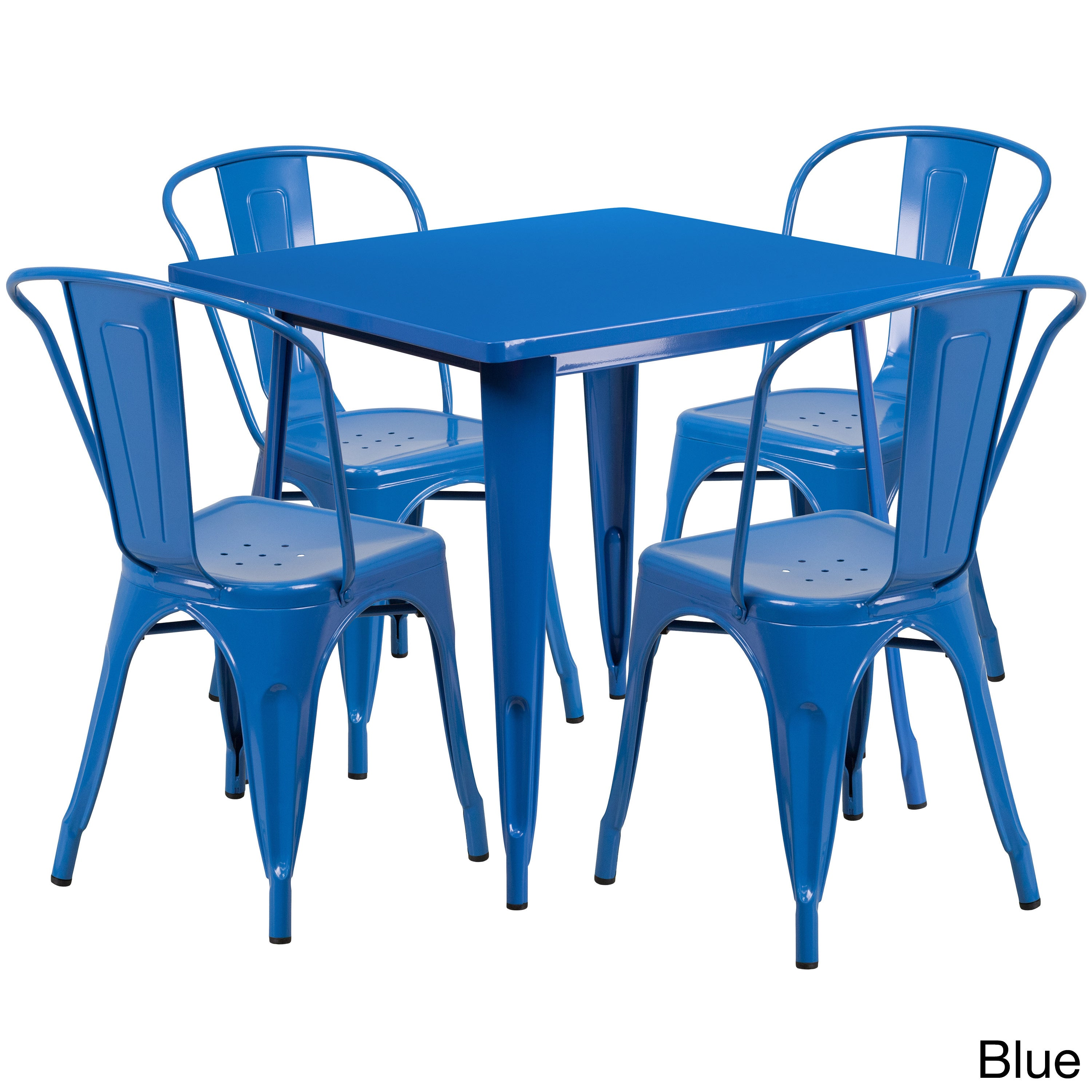 Metal Indoor Table Set - Free Shipping Today - Overstock - 18591078