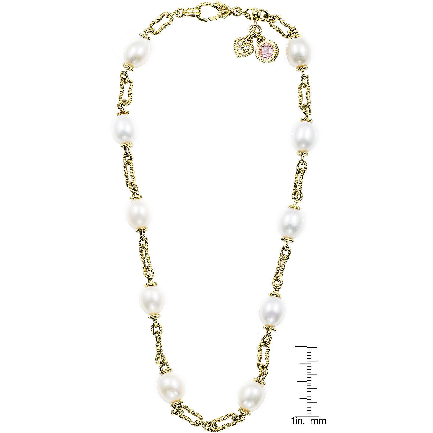 product necklace pearl jewelry in gallery judith ripka metallic lyst pendant