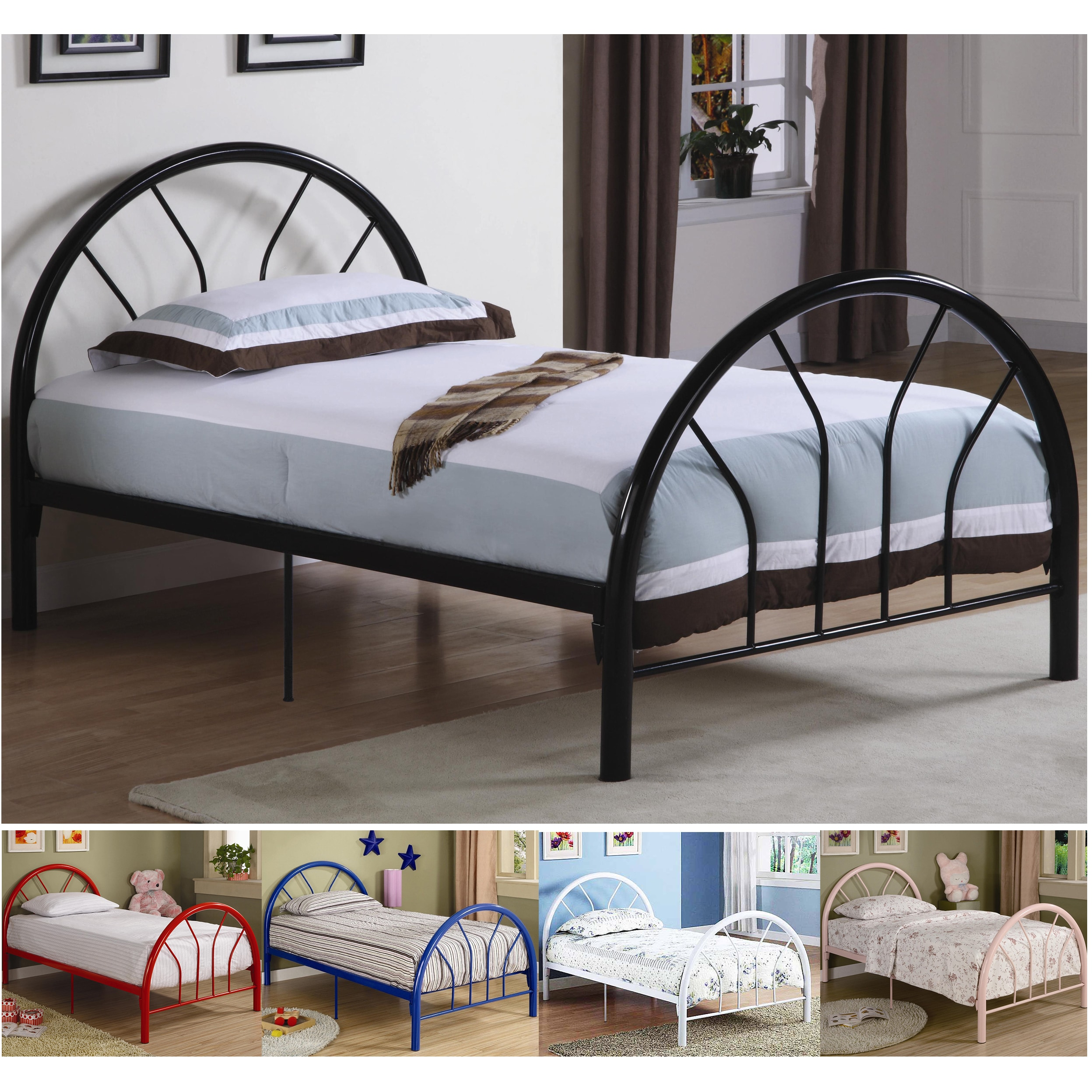 headboard scarlett bed coaster color iron delivery metal in index products dfw beds store twin furniture discounted discount online free