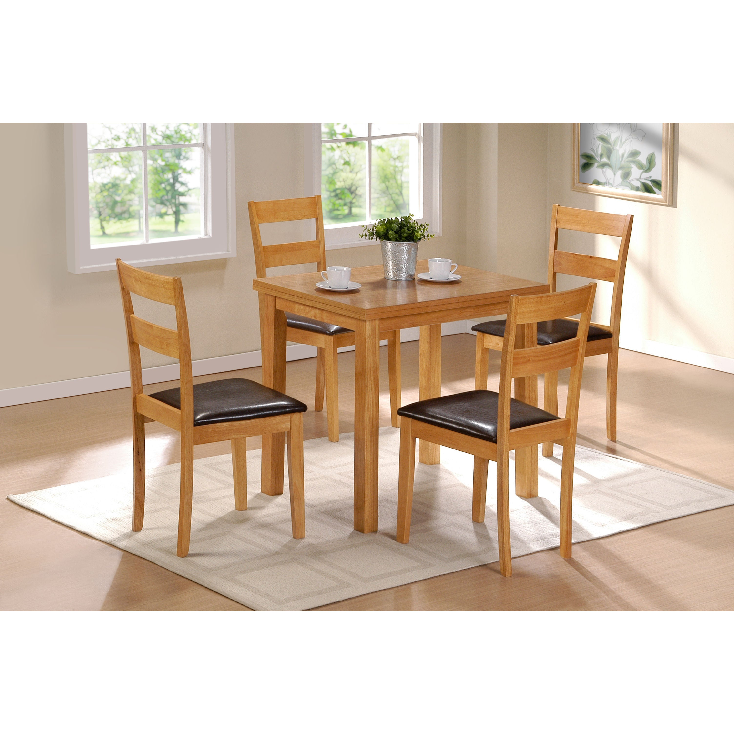 Shop colorado natural finish folding dining table on sale free shipping today overstock com 11668636