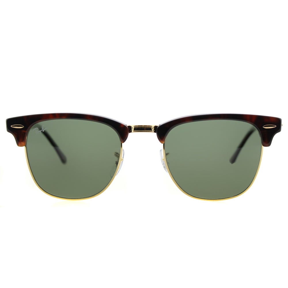 f7ed98091d7 Shop Ray-Ban RB 3016 990 58 Red Havana And Gold Green Polarized Lens Clubmaster  Sunglasses - Free Shipping Today - Overstock - 11672625