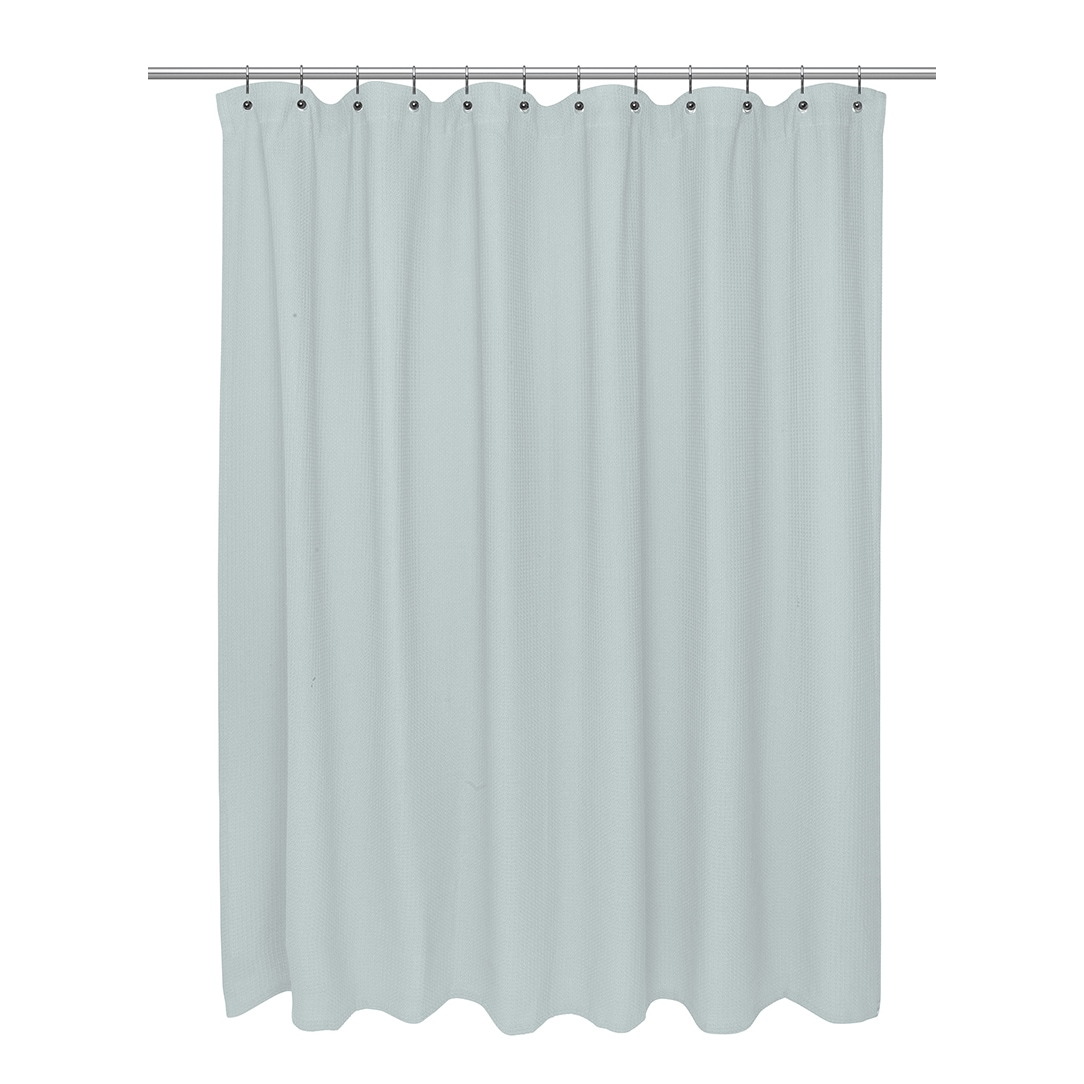 green polyester white waffle shower curtains with interior weave walmart stripe design curtain