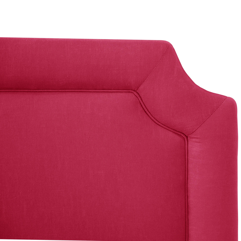 Shop Skyline Furniture Kids Fuschia Linen Notched Headboard   On Sale    Free Shipping Today   Overstock.com   11678477