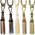 Two-Tone Tassel Curtain Tie Back (Pair)