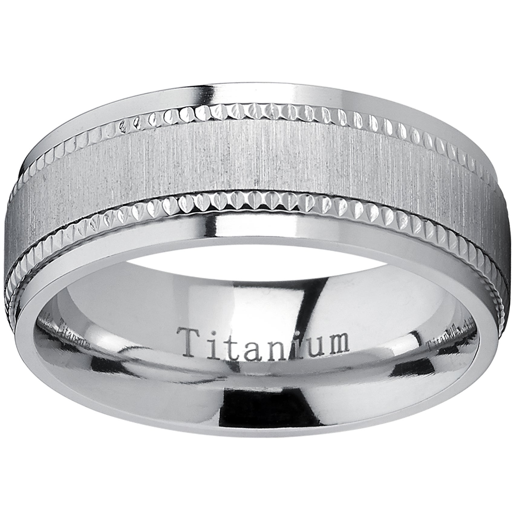 beyond milgrain bands wedding men classic rings s