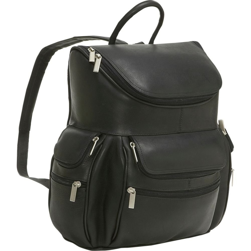 2684d5a9ec Shop LeDonne Leather 15-inch Laptop Backpack - On Sale - Free Shipping  Today - Overstock - 11690624