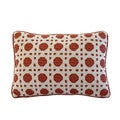 Nostalgia Home Folk Art 12-Inches Wide x 16-Inches Long Decorative Throw Pillow