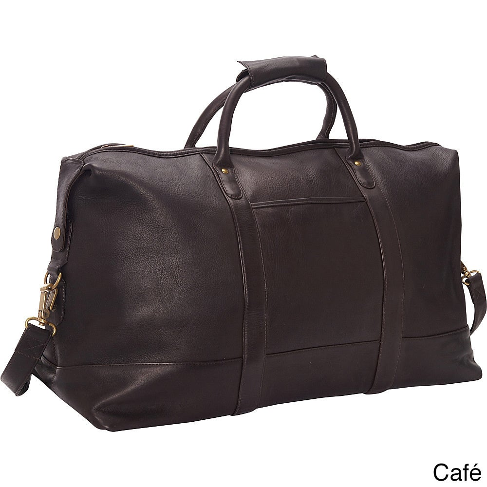 3d6028808 Shop LeDonne Leather Vaqueta 24-inch Classic Duffel Bag - Free Shipping  Today - Overstock - 11695538