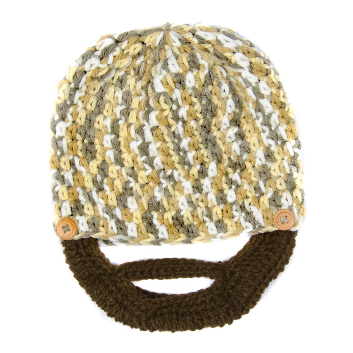 b1bbc3b2 Crummy Bunny Medium Lumberjack Beard Hat