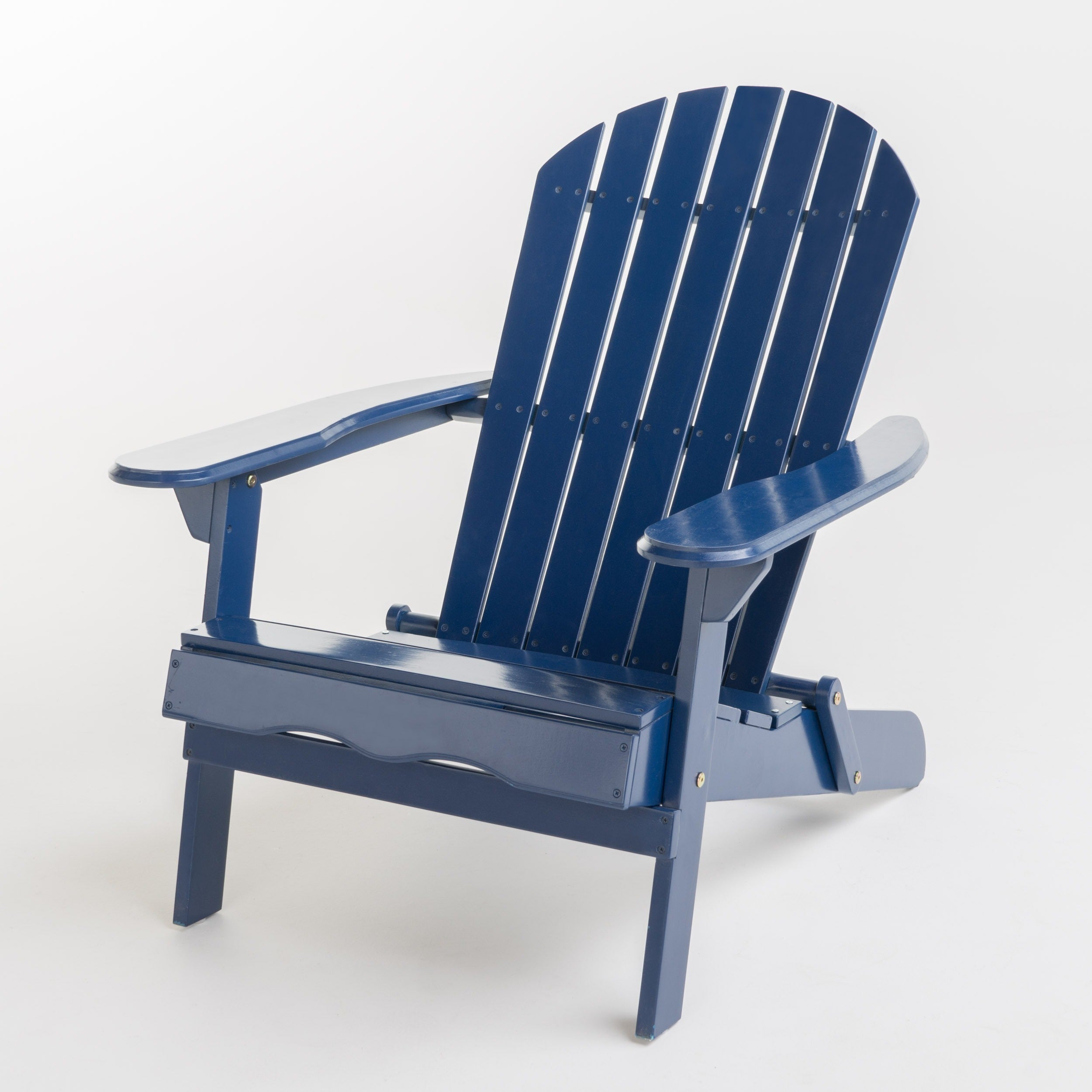 Hanlee Outdoor Folding Wood Adirondack Chair By Christopher Knight Home    Free Shipping Today   Overstock   18626091