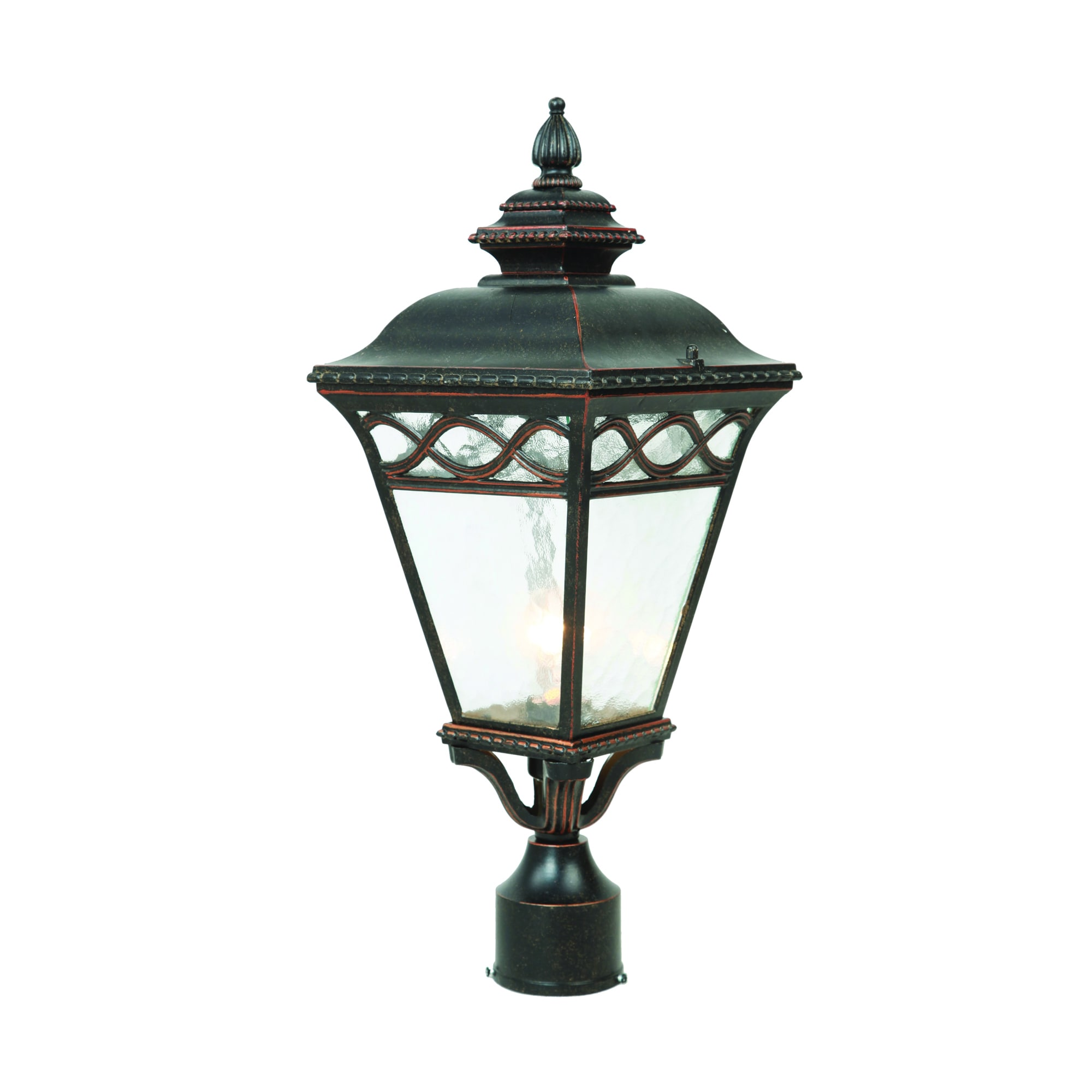Y decor cheri outdoor lamp post light fixture in oil rubbed bronze y decor cheri outdoor lamp post light fixture in oil rubbed bronze oil rubbed bronze free shipping today overstock 18626427 arubaitofo Gallery