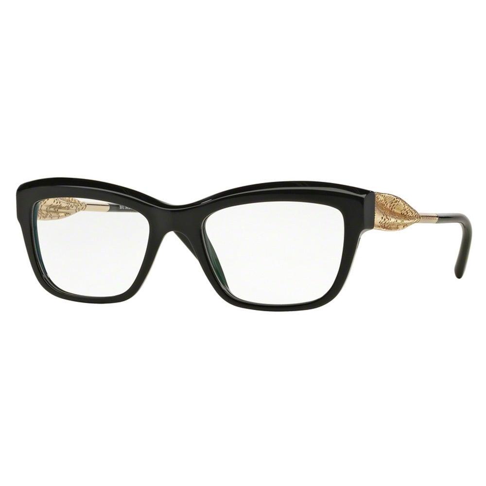 e78e55ab923 Shop burberry womens be black plastic square eyeglasses free shipping today  jpg 1000x1000 Burberry black plastic