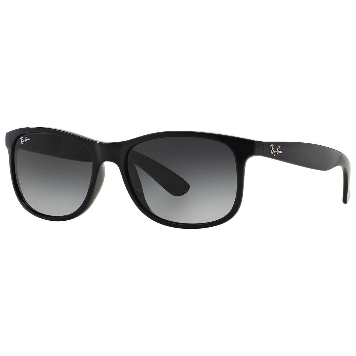 80f4bded16 Ray-Ban RB4202 601 8G 55mm Grey Gradient Lenses Black Frame Sunglasses