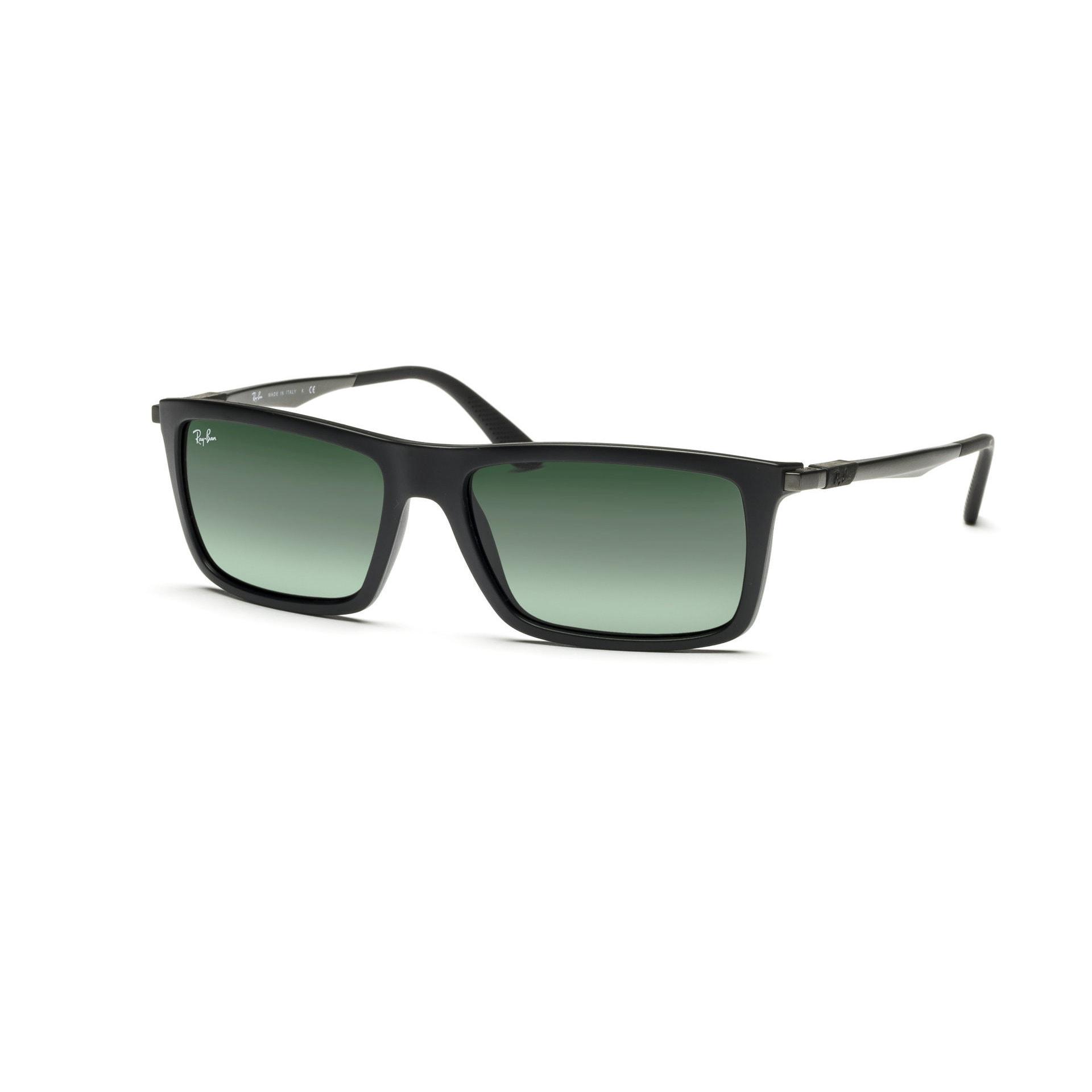 ecbb6f5ed3 Ray-Ban RB4214 601S71 59mm Green Classic Lenses Black Gunmetal Frame  Sunglasses