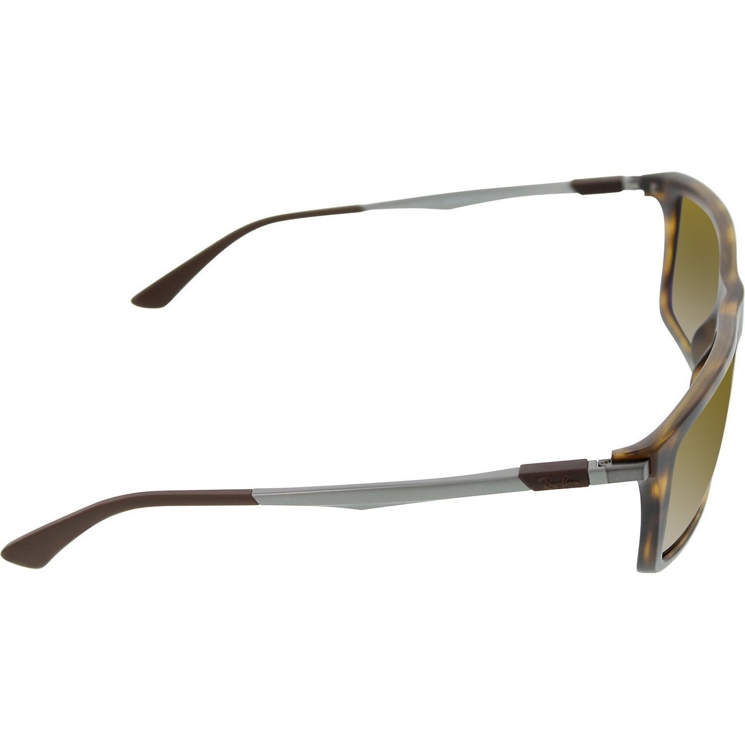 1de92740330 Shop Ray-Ban RB4214 609283 Unisex Tortoise Gunmetal Frame Polarized Brown  Classic Lens Sunglasses - Free Shipping Today - Overstock - 11707876