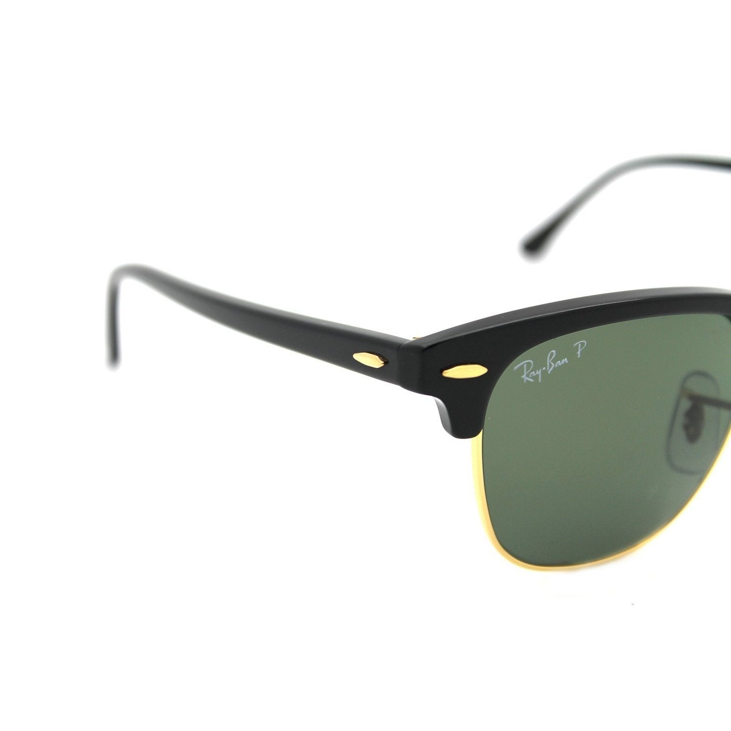 59ebda84e5 Shop Ray-Ban RB3016 901 58 Clubmaster Classic Black Frame Polarized Green  Classic 49mm Lens Sunglasses - Free Shipping Today - Overstock - 11708008