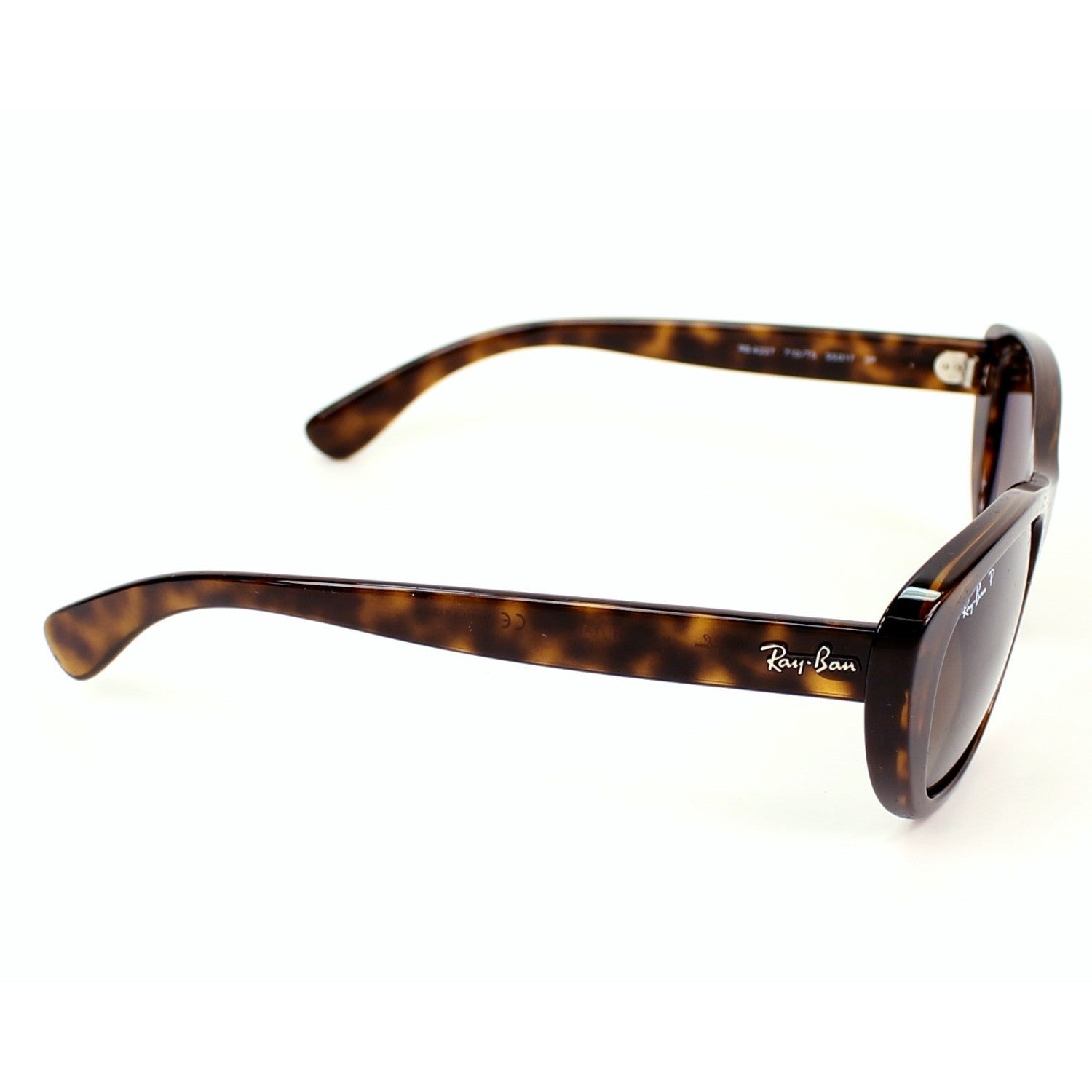 aea98e80b4 Shop Ray-Ban RB4227 710 T5 55mm Polarized Brown Gradient Lenses Tortoise  Frame Sunglasses - Free Shipping Today - Overstock - 11708053