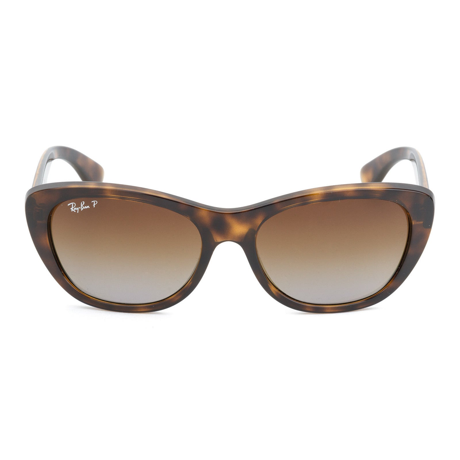 2af176deb87d Shop Ray-Ban RB4227 710/T5 55mm Polarized Brown Gradient Lenses Tortoise  Frame Sunglasses - Free Shipping Today - Overstock - 11708053
