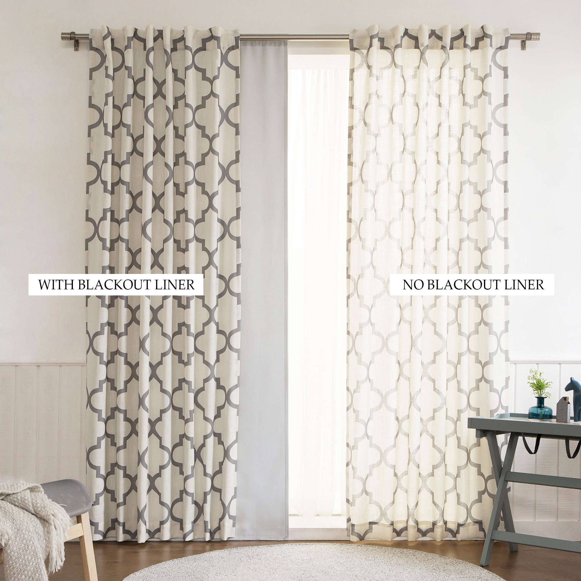 home pair by kitchen inch thermaliner white liner jhl panel drape amazon com dp drapes eclipse blackout