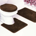 Frieze 3 Piece Bathroom Rug Set