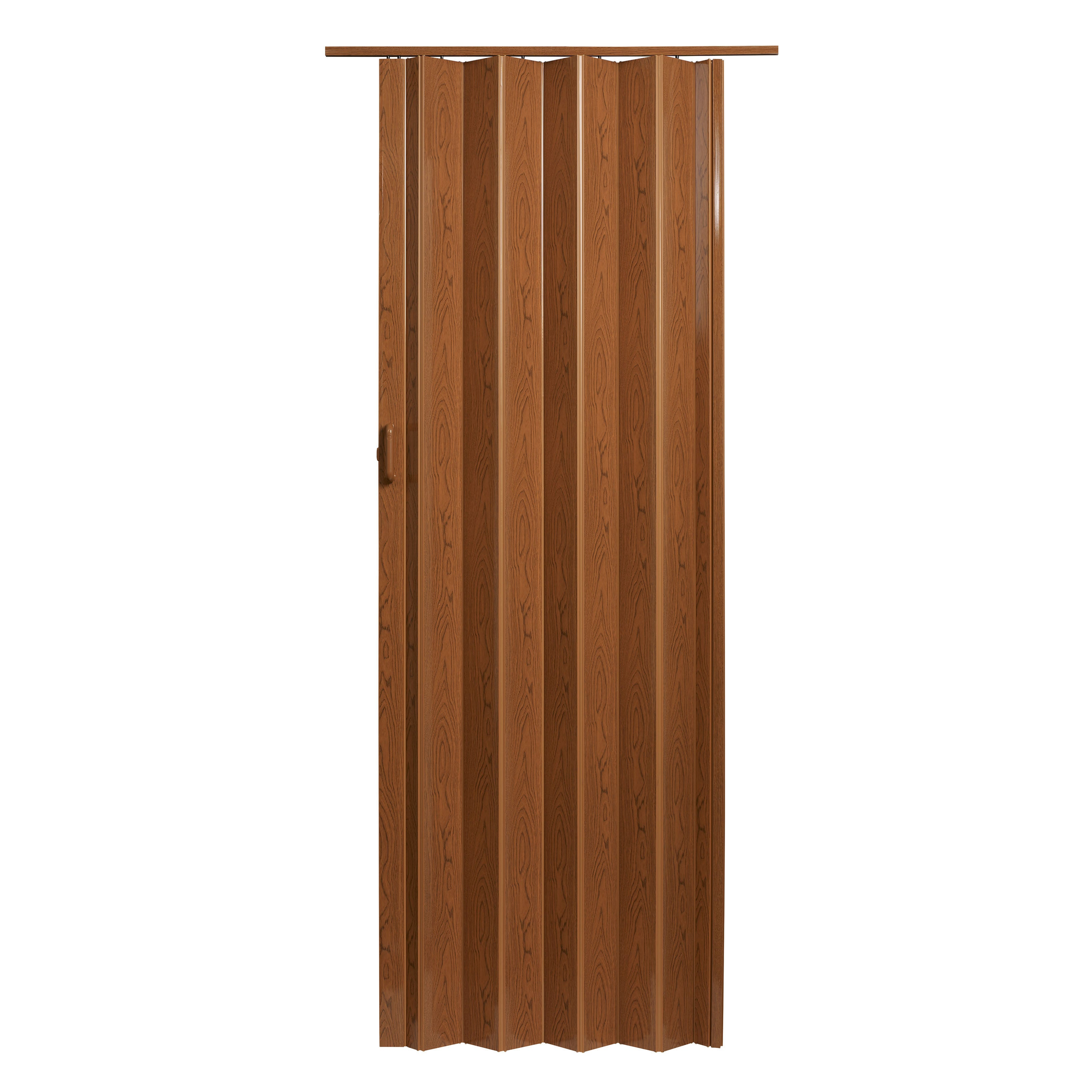 Pecan Brown 48 Inch X 80 Inch Folding Door   Free Shipping Today    Overstock.com   18632801