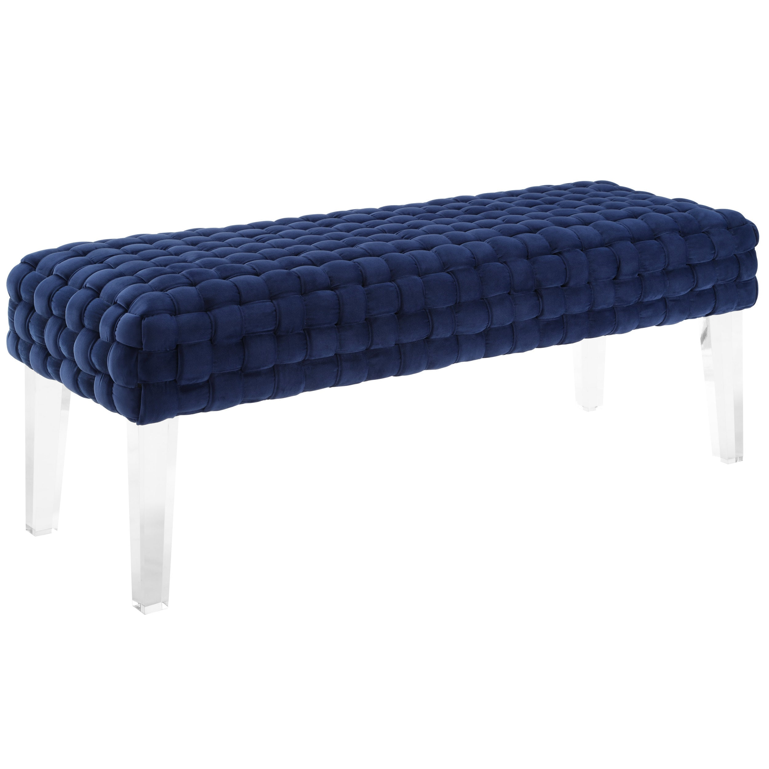 fabric plaid gold x il legs check brass fullxfull ottoman with navy bench upholstered custom buffalo products
