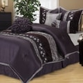 Nanshing Riley Purple 7-piece Bedding Comforter Set