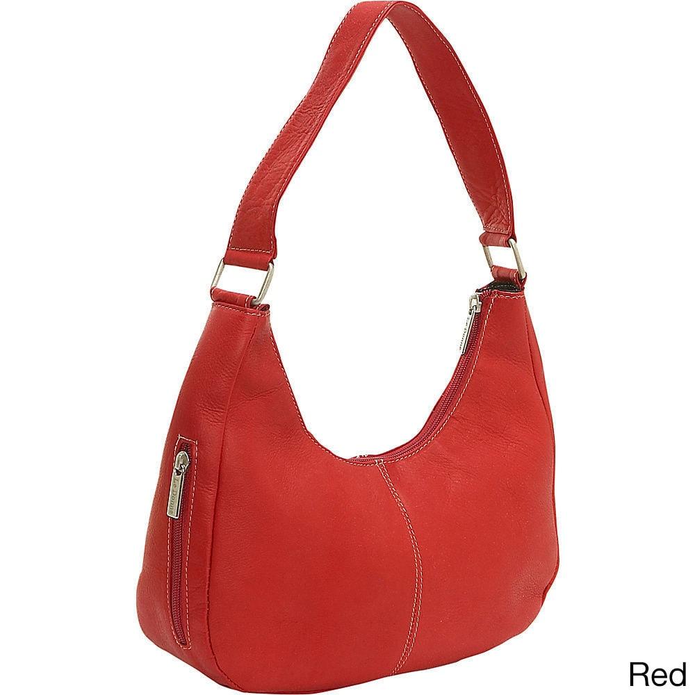 Ledonne Leather Classic Hobo Handbag On Free Shipping Today 11715009
