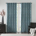 Madison Park Lenox Embroidered Taffeta Single Curtain Panel