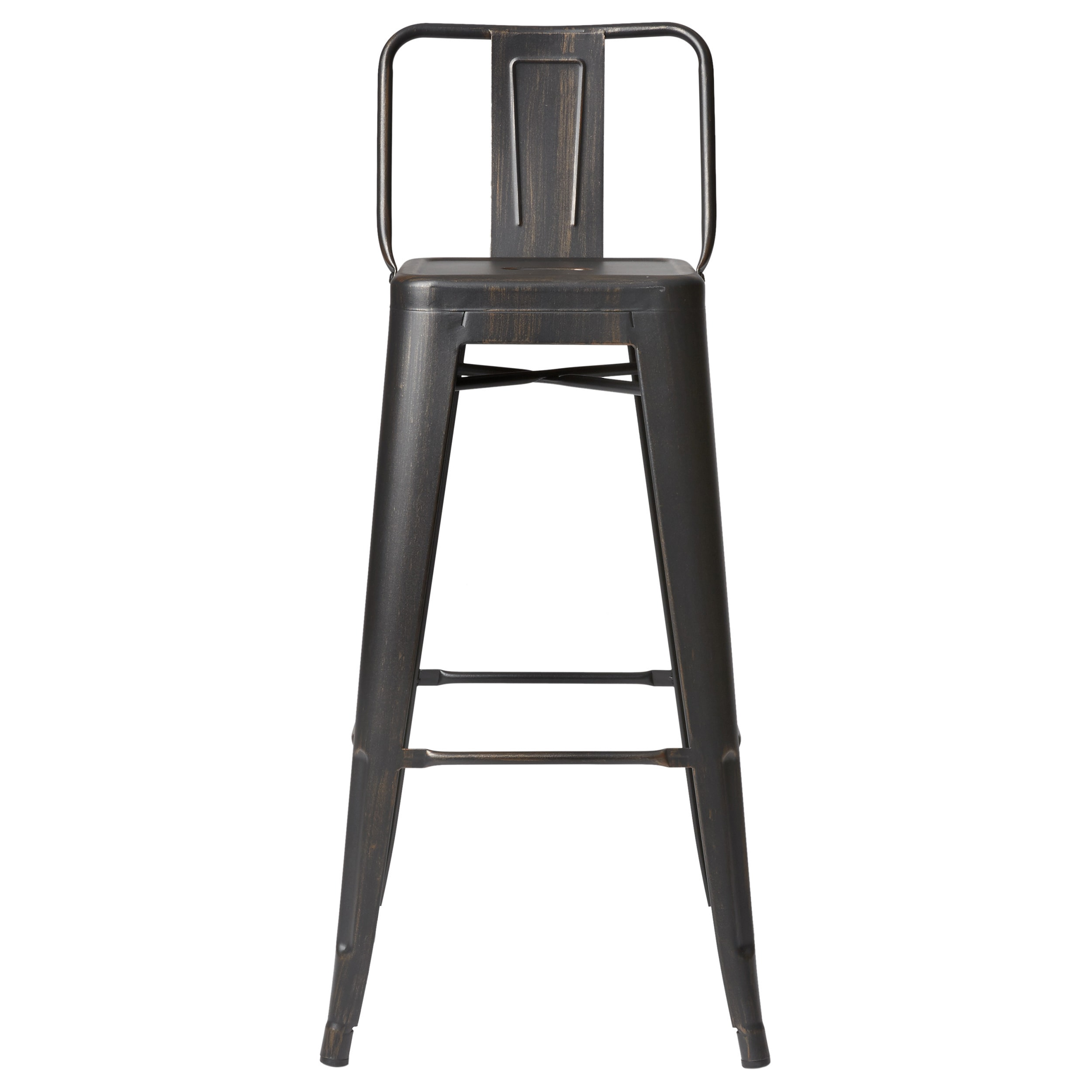 Shop Carbon Loft Ruska Steel 30 Inch Bar Stool Set Of 2 On Sale