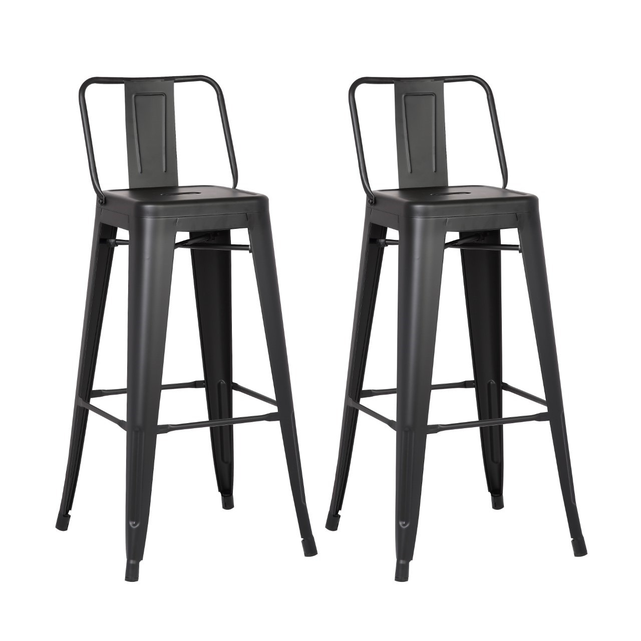 Shop steel 24 inch bar stool set of 2 on sale free shipping today overstock com 11718074
