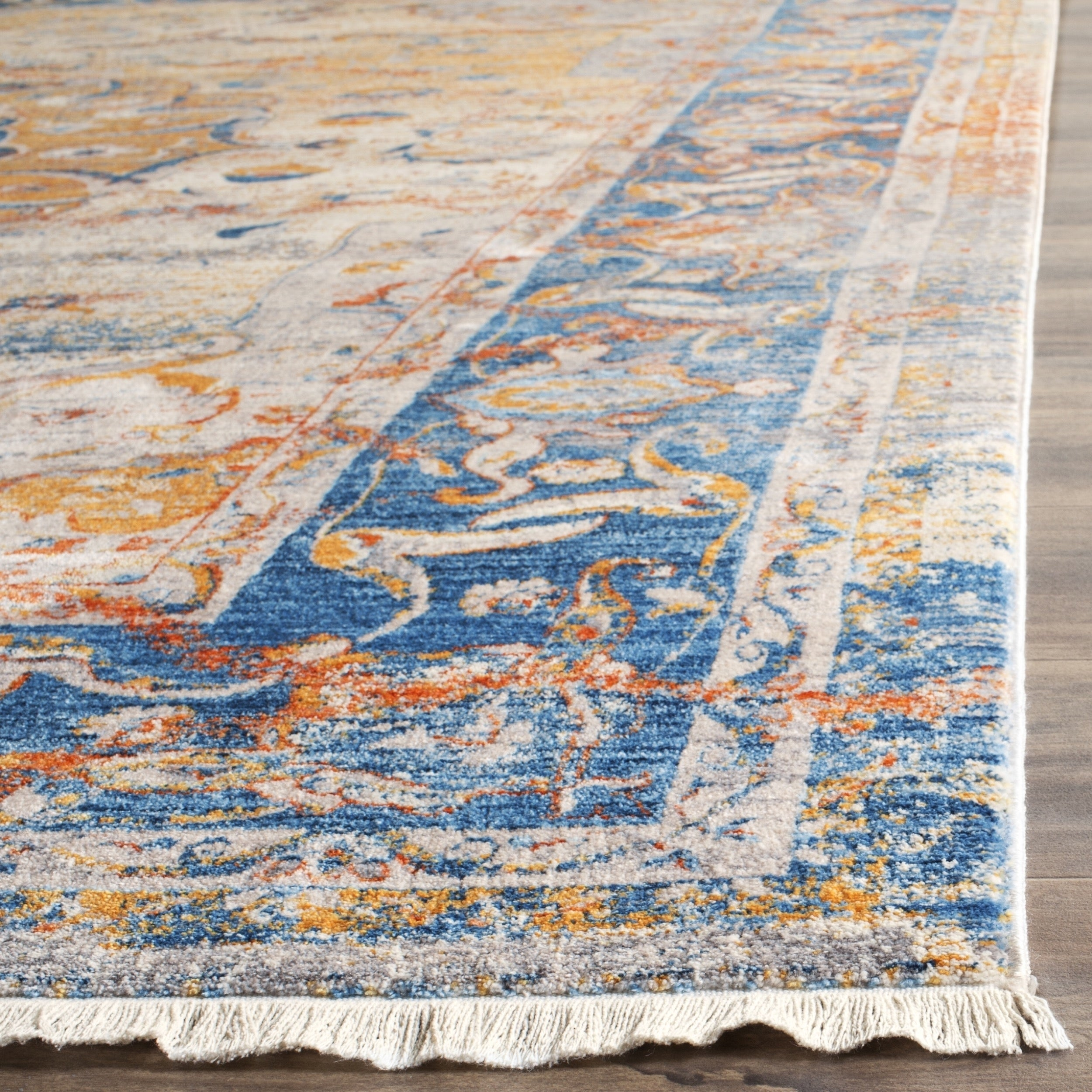 Safavieh Vintage Persian Blue Multi Distressed Rug 4 X 6 On Free Shipping Today Com 11720950