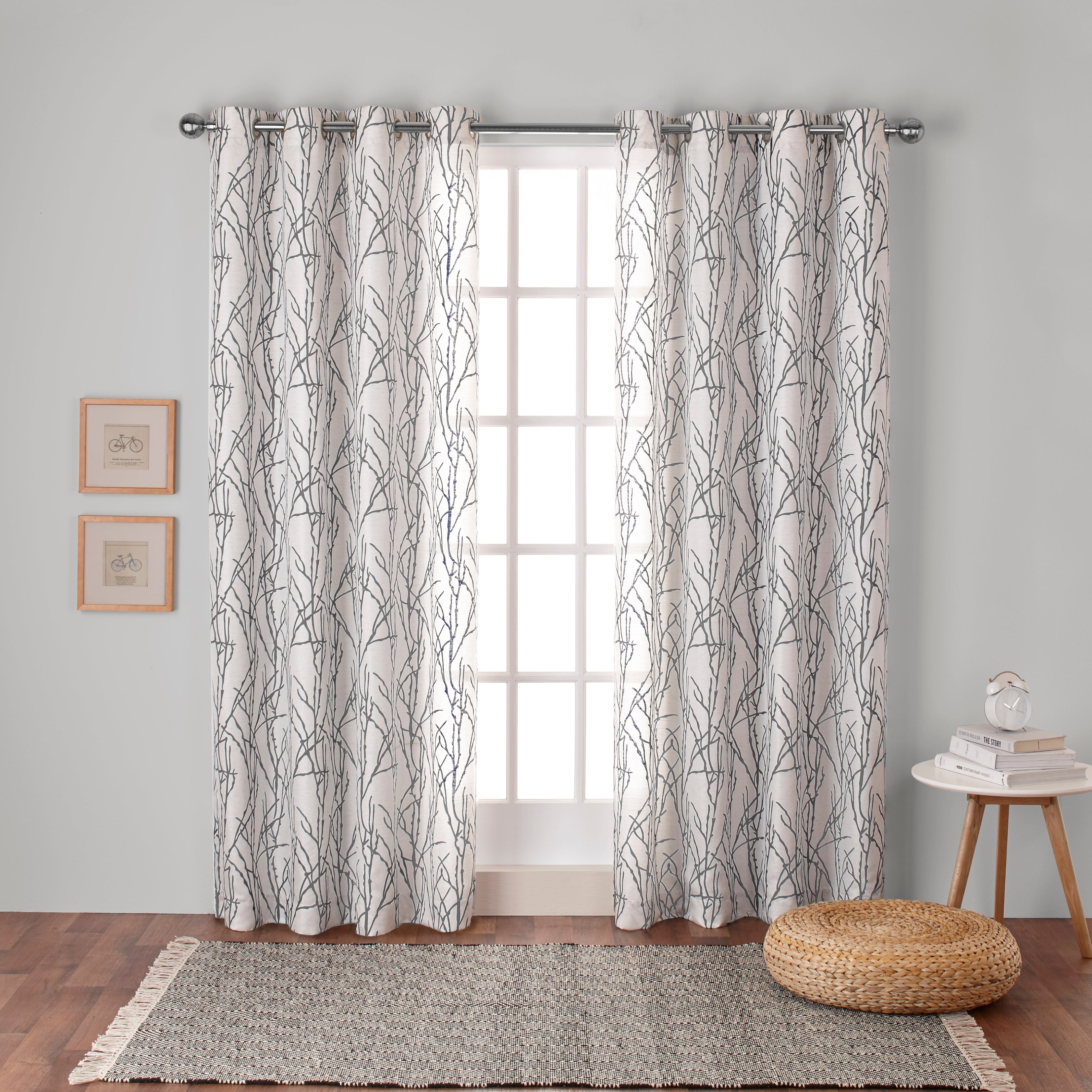 window nubby solid pdx curtains elements reviews linen treatments wayfair panels sheer gray curtain