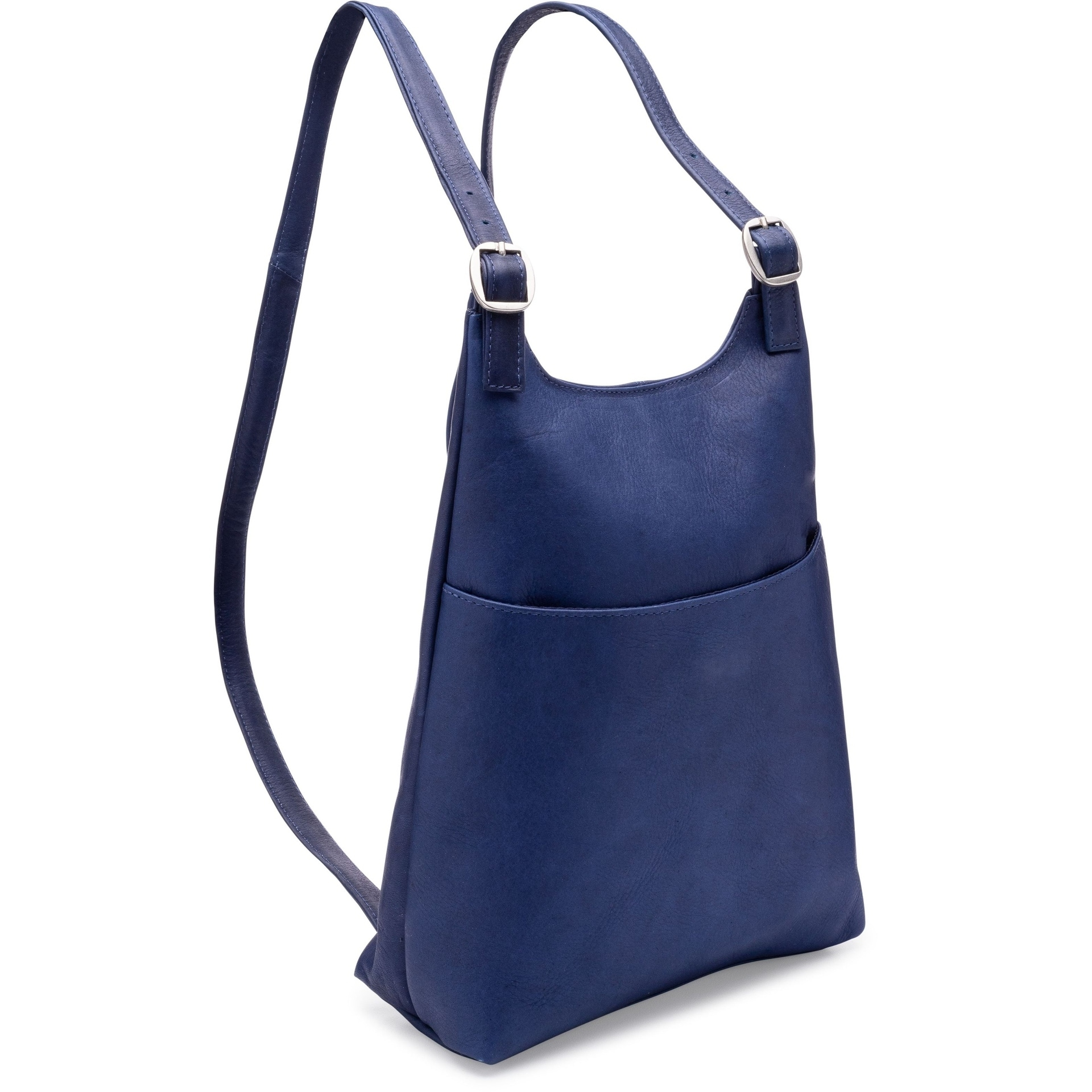 17e6a320d5 Shop LeDonne Leather Women s Slim Sling Backpack - On Sale - Free Shipping  Today - Overstock - 11727840