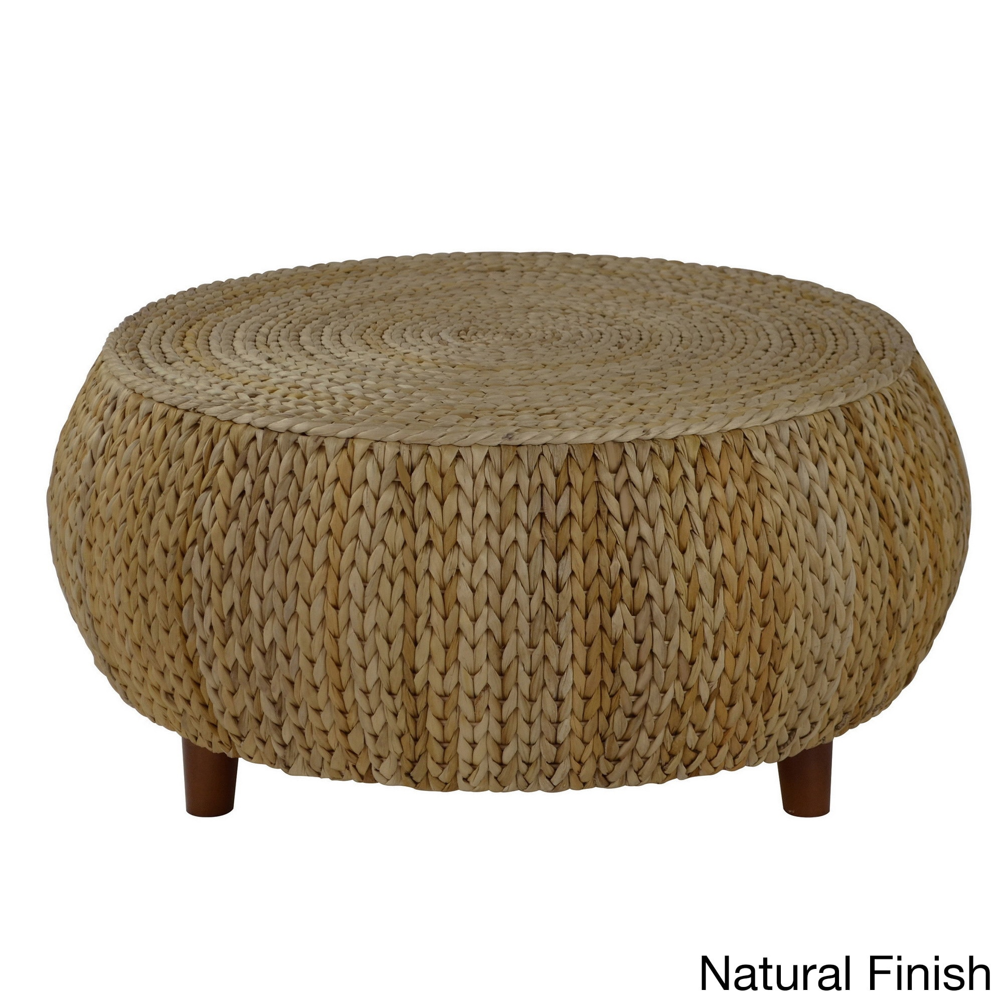 Gallerie Decor Bali Breeze Low Round Coffee Table Free Shipping
