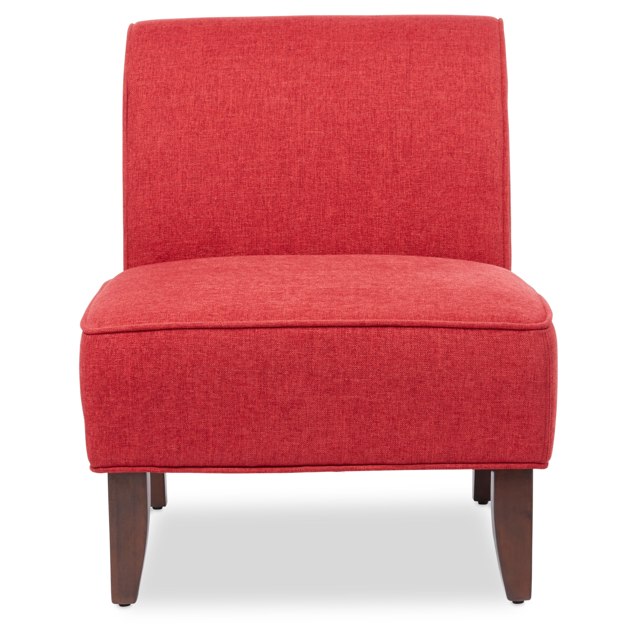 Exceptionnel Shop Laurel Creek Sadie Slipper Red Accent Chair   Free Shipping Today    Overstock.com   11735648