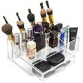 Acrylic 15-Section Large Makeup Organizer