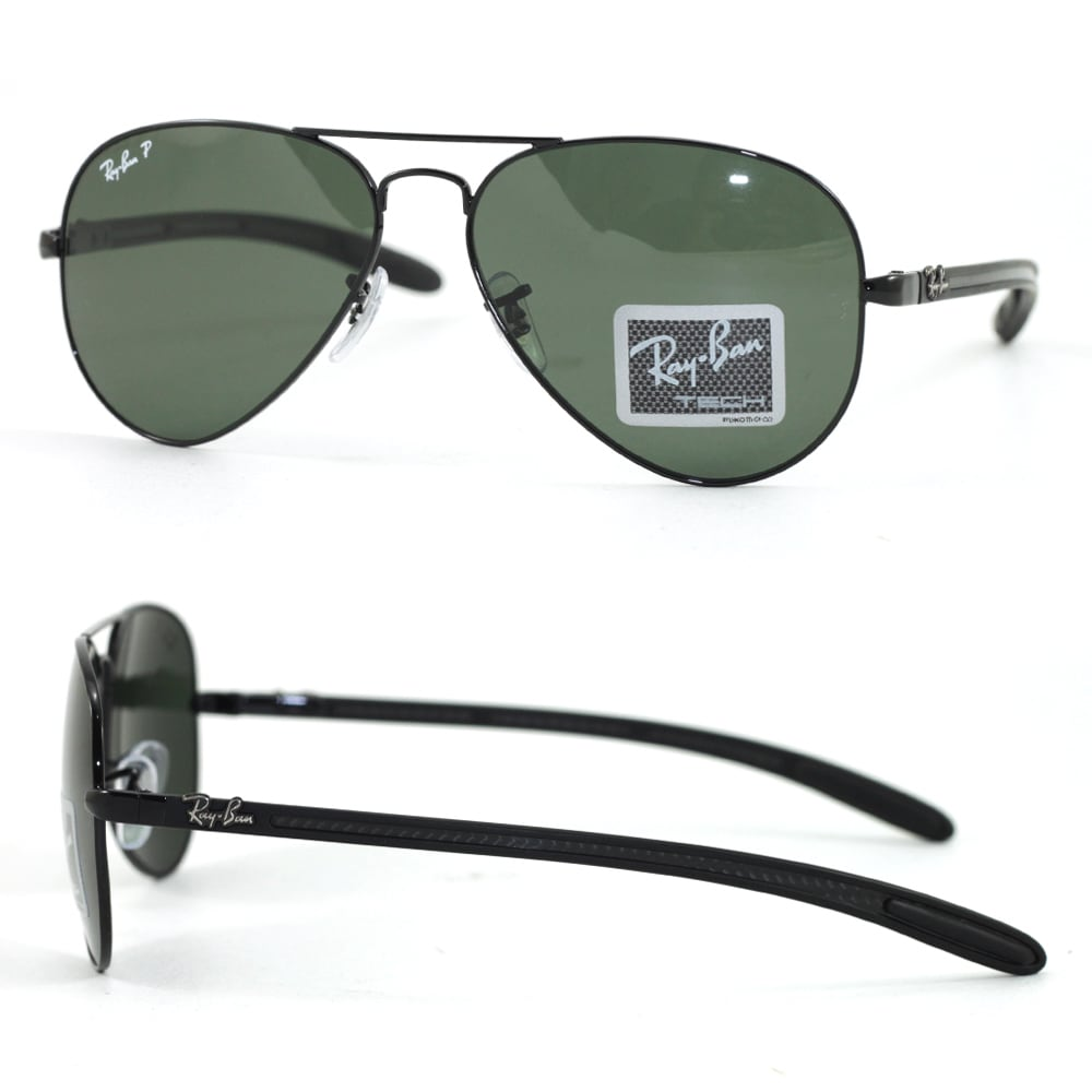 b36a2f0626 Shop Ray-Ban RB8307 002 N5 58mm Polarized Green Classic Lenses Black Frame  Sunglasses - Ships To Canada - Overstock - 11736065