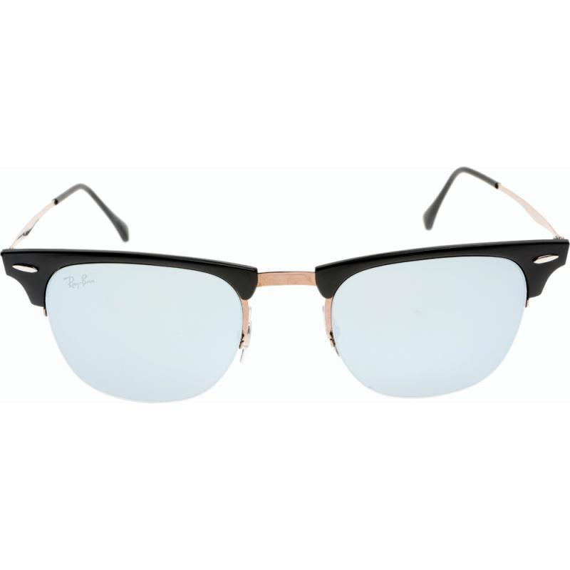 8429da629ac Shop Ray-Ban RB8056 176 30 51mm Green Mirror Lenses Black Brown Frame  Sunglasses - Free Shipping Today - Overstock - 11736150
