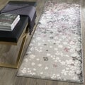 Safavieh Adirondack Vintage Floral Light Grey / Purple Rug (2'6 x 6')