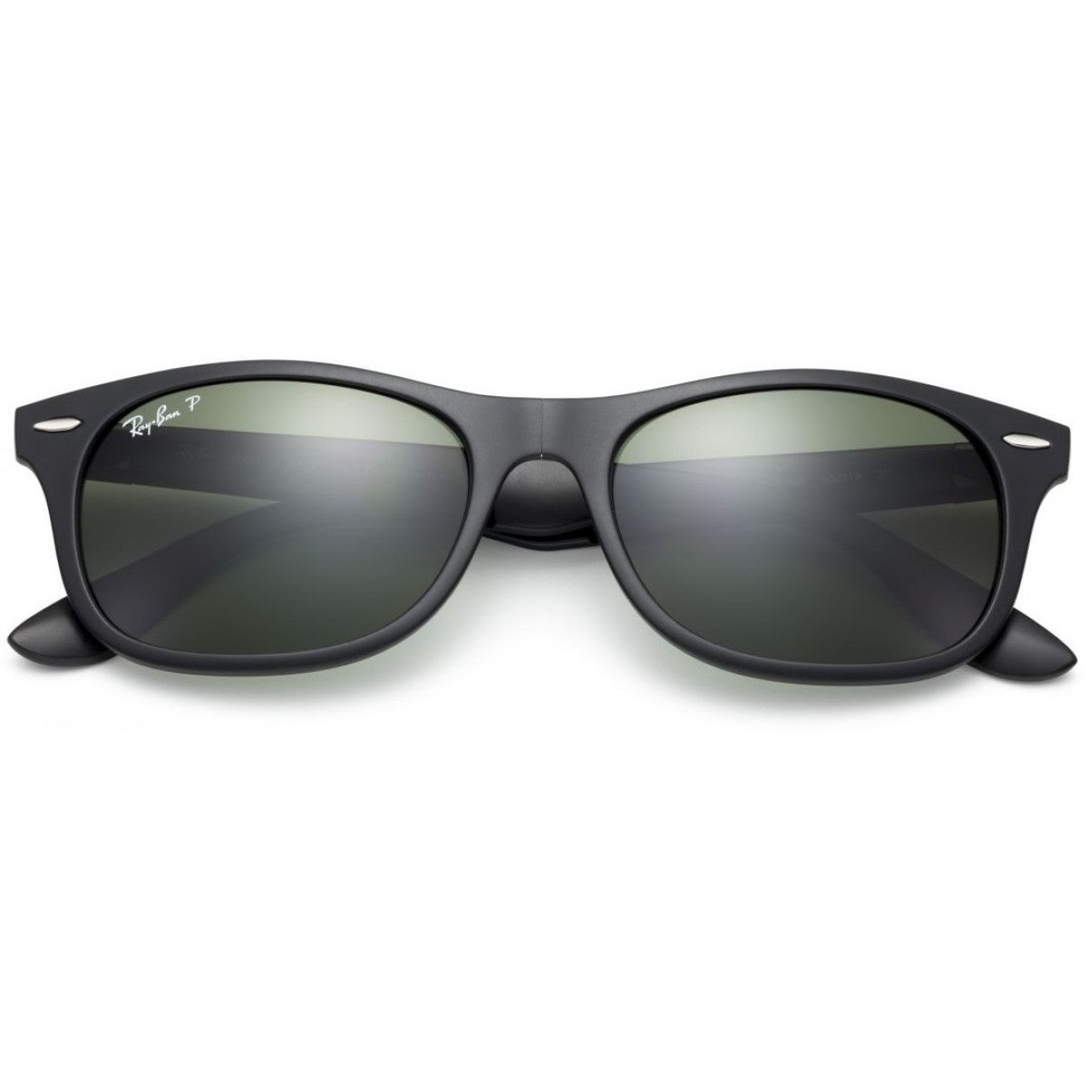 b9a1d40898623 Shop Ray-Ban RB4223 601S9A 55mm Polarized Green Classic Lenses Black Frame Foldable  Sunglasses - Free Shipping Today - Overstock - 11736672