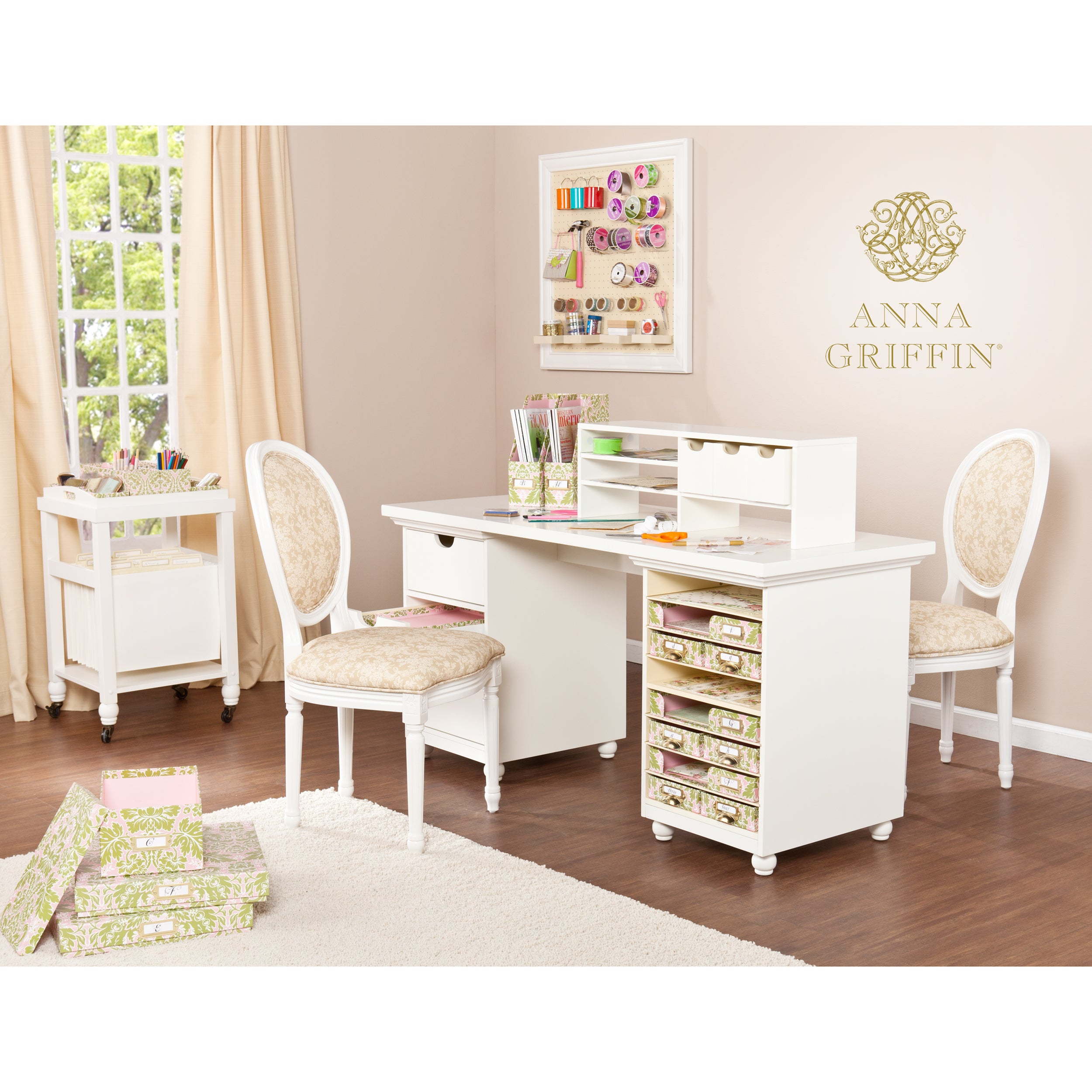 Anna Griffin Craft Room Desktop Organizer Free Shipping Today 11740644