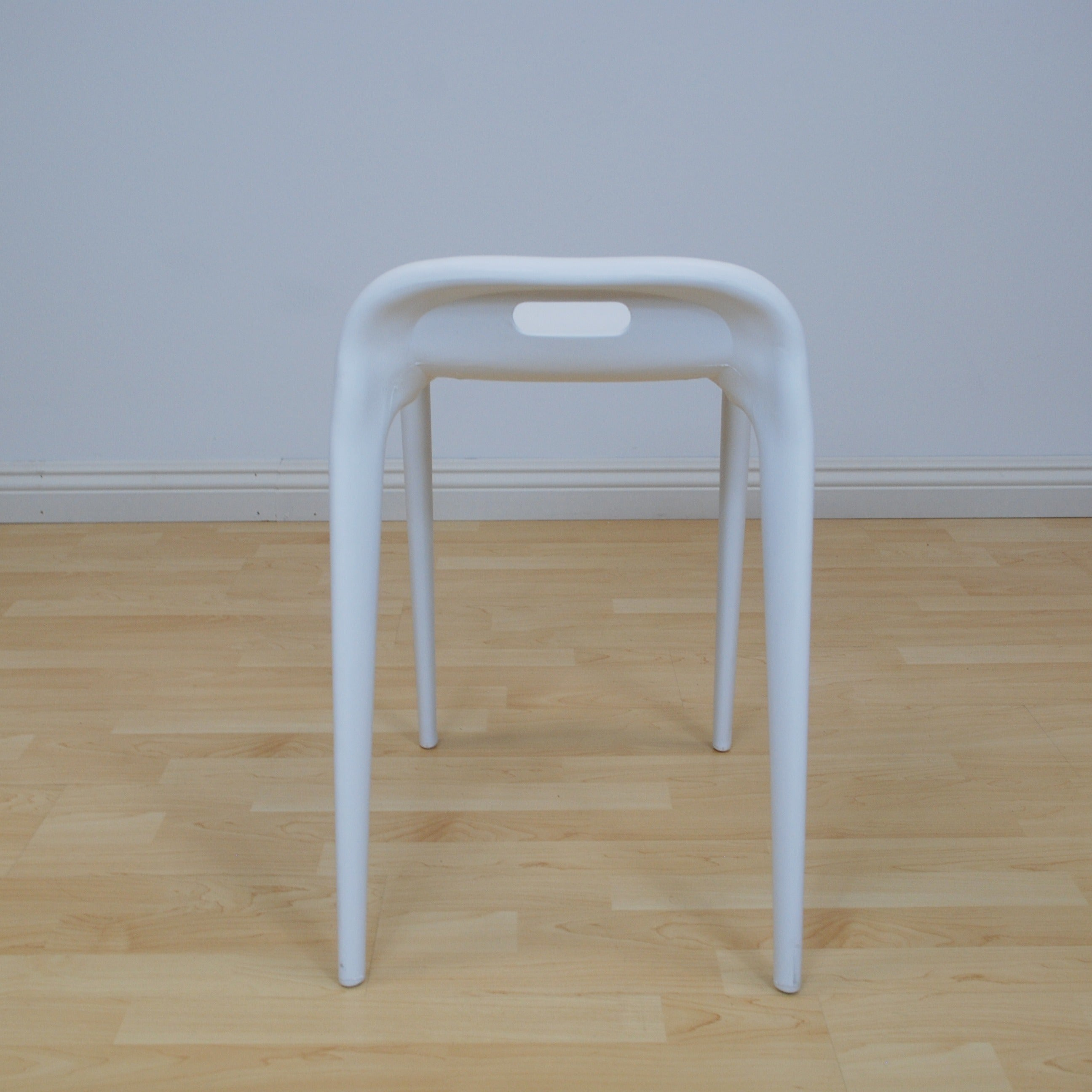 Mod Made E Z Modern 22 Inch High Stacking Stool Chair Set Of 2 Free Shipping Today 11740895