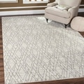 Safavieh Tunisia Ivory/ Light Grey Rug (8' x 10')