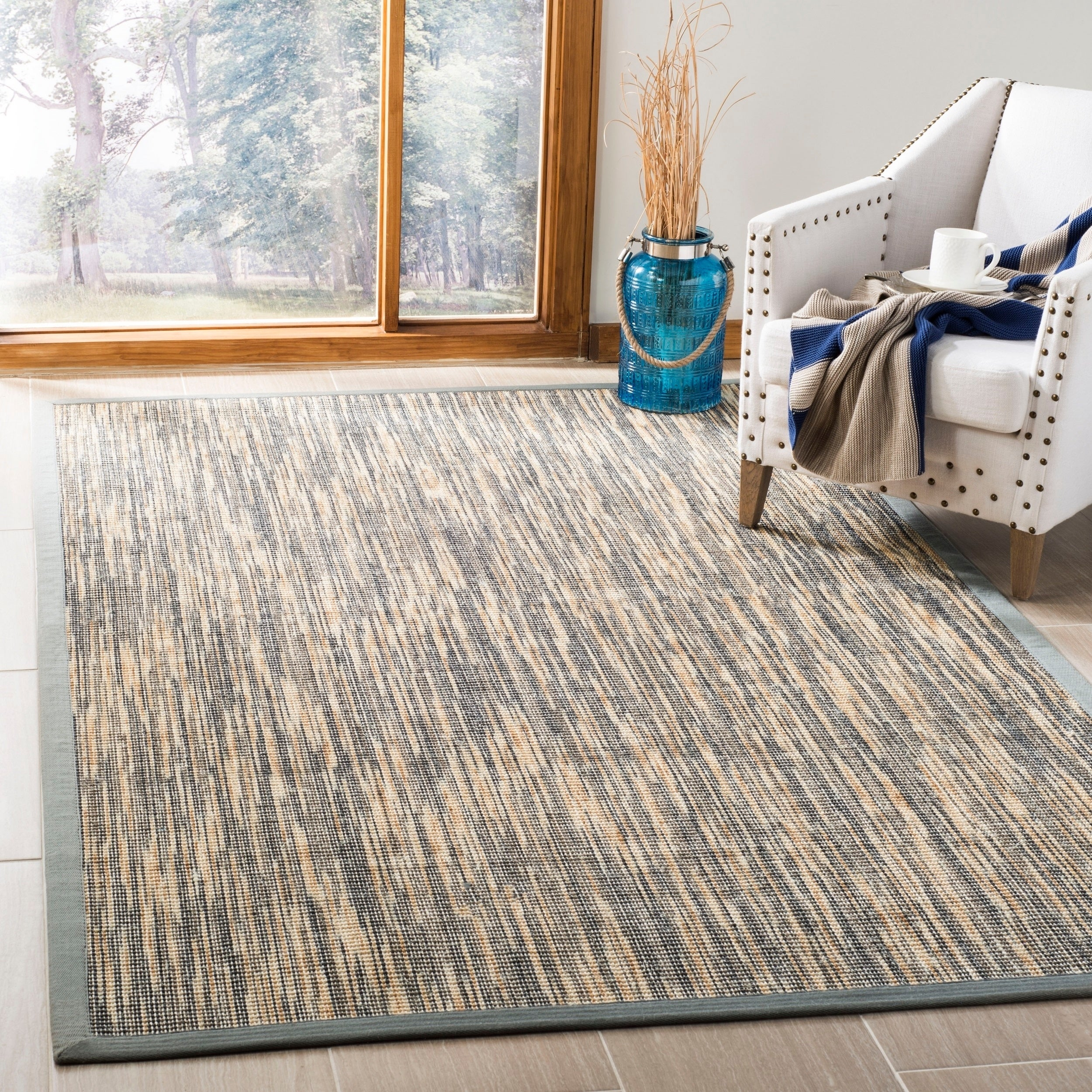 Safavieh Casual Natural Fiber Hand Woven Grey Sisal Rug 8 X 10 On Free Shipping Today 11740932