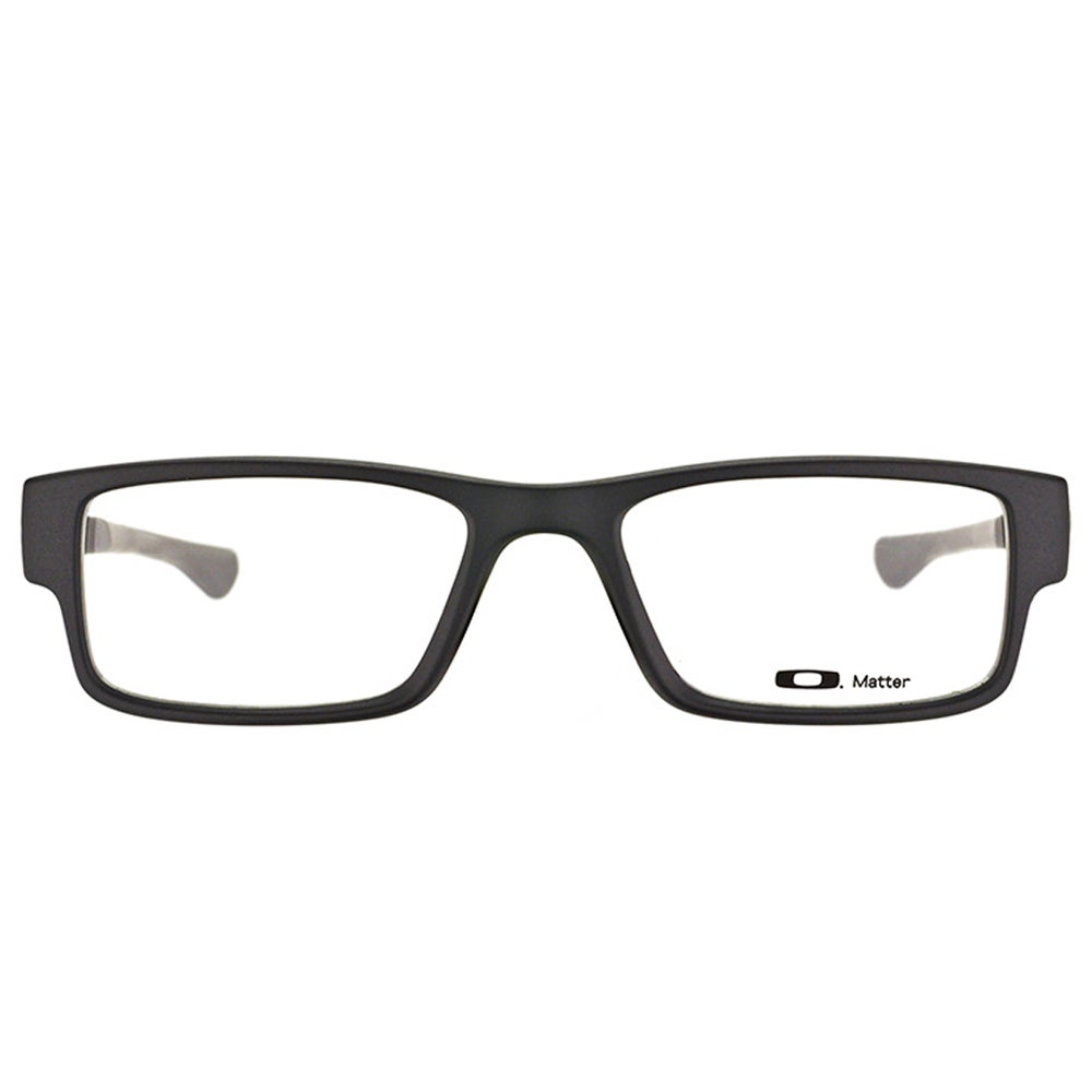 a6ee5de2c0 Shop Oakley Airdrop OX8046-0151 Satin Black Plastic Rectangle 51mm  Eyeglasses - Free Shipping Today - Overstock - 11741225