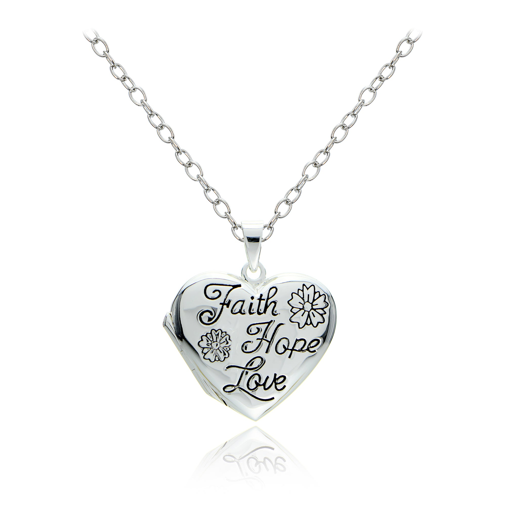 the wishlist add faith cart catholic to hope pendant company necklace charity